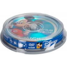 Toorikud DISNEY DVD-R 4,7GB 8x Mickey 10tk...