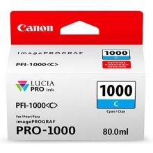 Тонер Canon PFI-1000 PC фото голубой