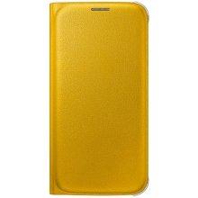 Samsung Flip Wallet PU für S6 kollane