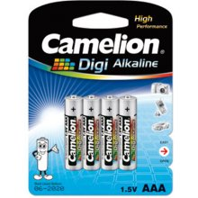 Camelion LR03-BP4DG AAA/LR03, Digi Alkaline...