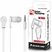 Global Technology HF BE BASS valge 3,5 MM