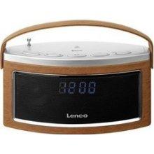 Радио Lenco SR-600BT коричневый