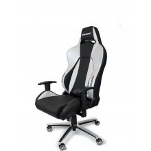 AKracing PREMIUM Gaming Chair Black Silver...