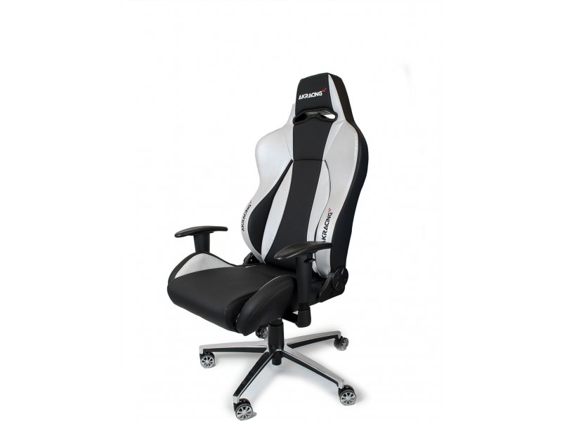 AKracing PREMIUM Gaming Chair Black Silver V2  sc 1 th 194 & AKracing PREMIUM Gaming Chair Black Silver V2 AK-7002-BS - 01.ee
