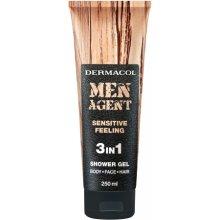 Dermacol Men Agent Sensitive Feeling 250ml -...