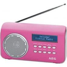 Радио AEG DAB 4130 розовый