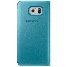 Samsung Flip Wallet PU für S6 синий