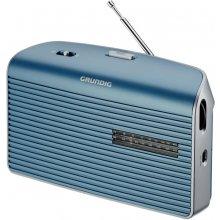 Raadio Grundig muusika 60 turquoise/hõbedane