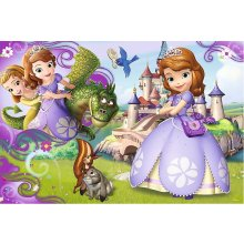 TREFL Puzzle 60 pcs - Disney Sofia the...