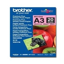 BROTHER Paper 20 sheets glossy A3