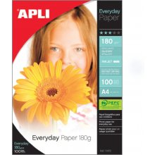 Apli Fotopaber Everyday Paper A4, 180g/m2...