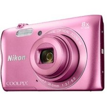 Fotokaamera NIKON Coolpix A300, roosa