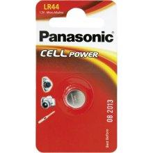 PANASONIC LR44 Knopfzellen-Batterie 1,5V 120...