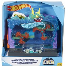 Hot Wheels City Downtown Aquarium set