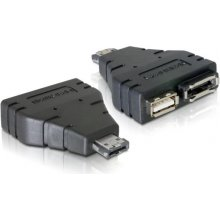 Delock SATA адаптер eSATAp -> eSATA + USB...