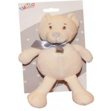 Axiom Teddy bear Tulis с a rattle 16 cm