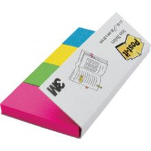 3M Indeksid paberist Post-it 20mmx38mm, 4...