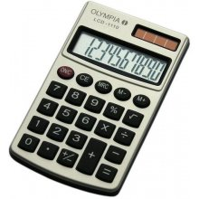 Калькулятор Olympia LCD-1110 серебристый