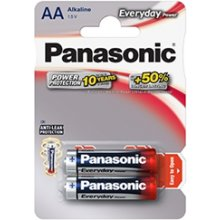 PANASONIC Everyday Power AA/LR6, Alkaline, 2...