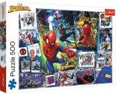TREFL 500 EL. Spiderman Superheroes