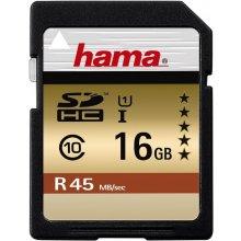 Флешка Hama SDHC Card 16GB Class 10
