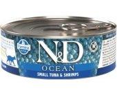 Farmina N&D OCEAN Cat Adult - tuna & shrimps...