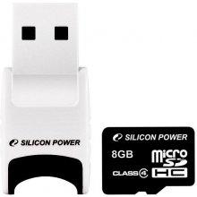 Флешка SILICON POWER карта памяти microSDHC...