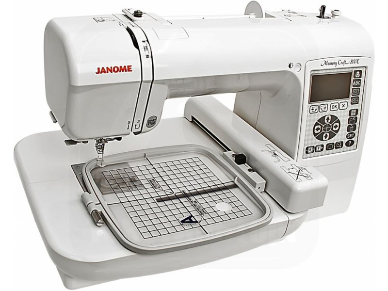 Janome Embroidery Machine Memory Craft 200e 01