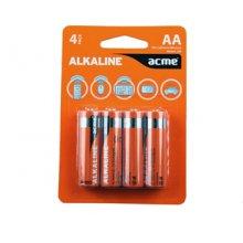 Acme LR6 Alkaline Batteries AA/4pcs