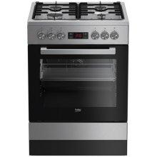 Pliit BEKO Gas electric-cooker FSE62321DX