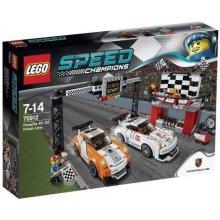 LEGO Speed Porsche 911 GT, linia mety