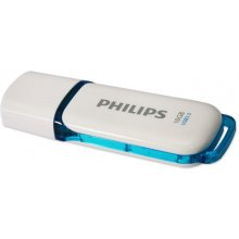 Флешка Philips FM16FD75B, Blue, White, USB...