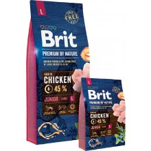 Brit Premium by Nature Junior L 3kg