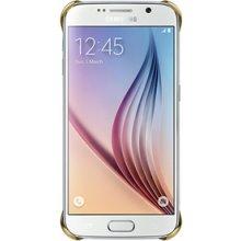 Samsung Clear чехол чехол, Plastic, Gold...