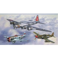 Revell Gift-Set Flying Legends 8th USA Air...