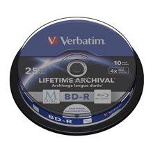 Диски Verbatim 43825 BD-R M-диск 25GB/1-6x...