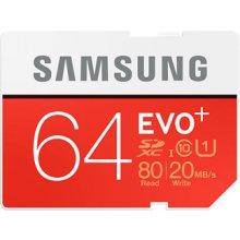 Mälukaart Samsung Evo Plus 64GB SDXC