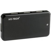 MS-Tech USB-Hub 7x USB High Speed USB 2.0...