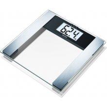 Весы BEURER BG17, LCD, серый, CR2032
