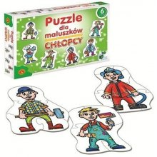Alexander Puzzle dla Maluszków - Chłopcy