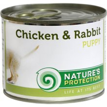 Natures Protection NP Puppy chicken & rabbit...