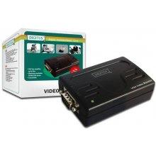 DIGITUS VGA video-Booster HD-Sub 15/M ->...