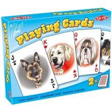TACTIC Karykatury Psów - 2 talie kart