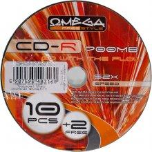 Toorikud OMEGA Freestyle CD-R 700MB 52x 10+2