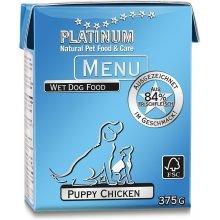 Platinum Menu Puppy Chicken 375g