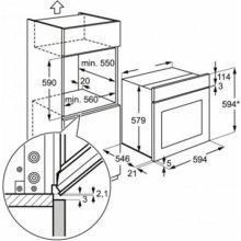 Ahi ELECTROLUX Oven EEB4233POX