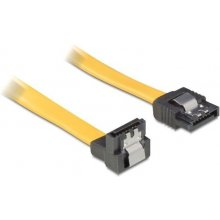 Delock SATA Kabel un/ge Metall жёлтый