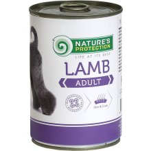 Natures Protection Dog Adult Lamb 400 g...
