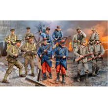 Revell Figurka set WWI German / British...