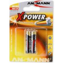 Ansmann 1x2 Alkaline Micro AAA LR 03 X-Power